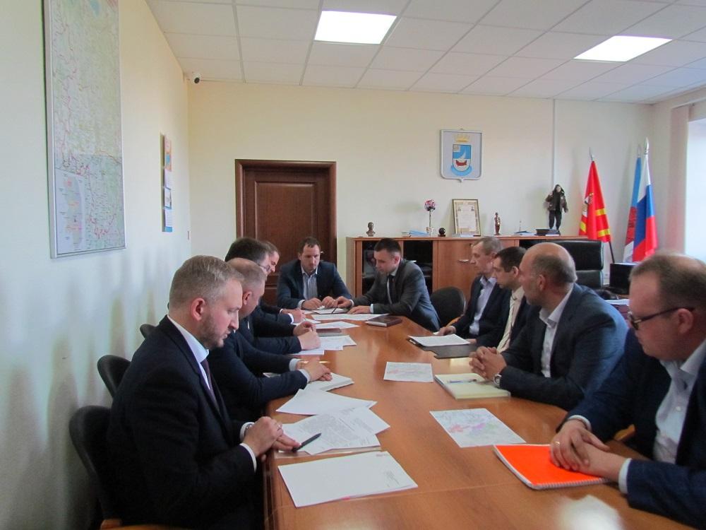Состоялось рабочее совещание по вопросу реализации инвестиционных проектов